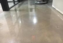Blue Lion Hair salon concrete flooring project